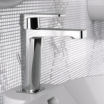 Miscelatore per lavabo / in metallo cromato / in ottone cromato / da bagno