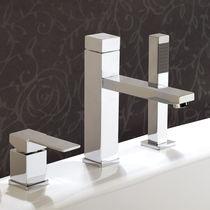 Miscelatore da doccia / da vasca / in metallo cromato / in ottone cromato
