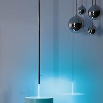 Miscelatore per lavabo / a soffitto / in metallo cromato / in ottone cromato
