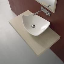 Lavabo da appoggio / in ceramica / moderno