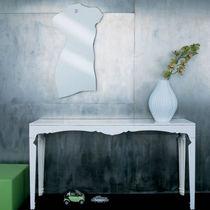 Specchio a muro / moderno / in acciaio inossidabile
