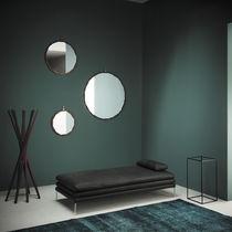Specchio a muro / moderno / rotondo / in metallo