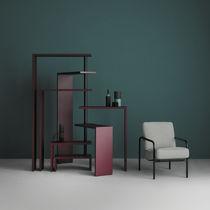 Scaffale moderno / in acciaio / in acciaio verniciato / di Achille Castiglioni