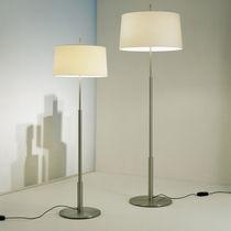 Lampada con piede / moderna / in metallo / in lino