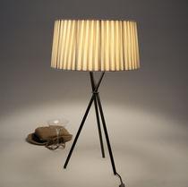 Lampada da tavolo / moderna / da interno / in tessuto