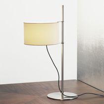 Lampada da tavolo / moderna / in metallo / in lino