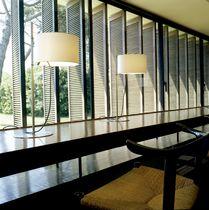 Lampada da tavolo / moderna / da interno / in lino
