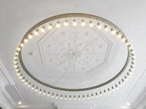 Lampadario moderno / in alluminio anodizzato / LED / fatto a mano