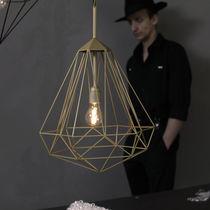 Lampada a sospensione / moderna / in acciaio / da interno