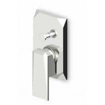 Miscelatore da doccia / da incasso / in metallo cromato / da bagno