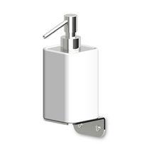 Distributore di sapone da parete / in cromo / in ottone / manuale