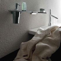 Distributore di sapone professionale / da parete / in cromo / in ottone