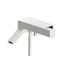 Miscelatore da doccia / per vasca / da parete / in metallo cromato