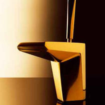Miscelatore per lavabo / in metallo cromato / in ottone / in nichel