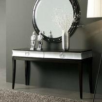 Consolle Art Deco / in legno laccato / rettangolare / con cassetti