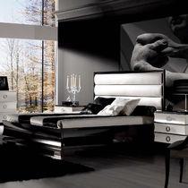 Letto standard / doppio / Art Deco / imbottito