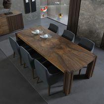 Tavolo moderno / in noce / in frassino / rettangolare