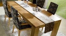 Tavolo moderno / in noce / rettangolare / quadrato