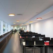 Plafoniera moderna / rotonda / in acrilico / LED