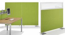 Pannello acustico per parete / in alluminio / in tessuto / decorativo