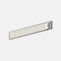 Griglia di ventilazione in alluminio / rettangolare / per il soffiaggio e la ripresa d'aria / per telai