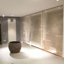 Membrana tessile in juta / in filo metallico / per controsoffitto / per parete