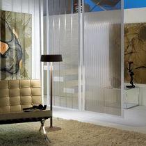 Tessuto per pareti mobili et controsoffitti / a tinta unita / in metallo / professionale