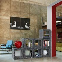 Scaffale modulare / design nuovo barocco / in polietilene