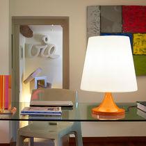 Lampada da tavolo / moderna / in alluminio laccato / in polietilene