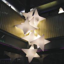 Lampada a sospensione / design originale / in polietilene / da interno