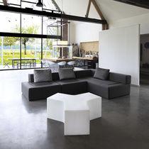 Panca da giardino / moderna / in polietilene / modulare