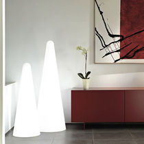 Colonna luminosa moderna / in polietilene / fluorescente / da interno
