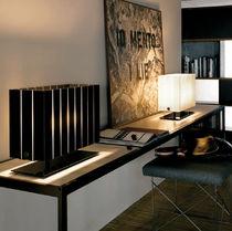 Lampada da tavolo / moderna / in vetro / in metallo
