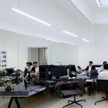 Luce a sospensione / da incasso a soffitto / LED / lineare