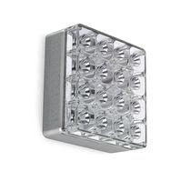Luce LED / quadrata / da esterno / in alluminio