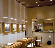 Luce a sospensione / LED / in alluminio estruso / IP40