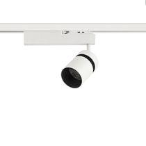 Faretti a binario LED / HID / rotonda / in ghisa di alluminio