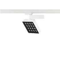 Faretti a binario LED / quadrata / in ghisa di alluminio / professionale