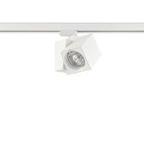 Faretti a binario LED / quadrato / in ghisa di alluminio / per negozi