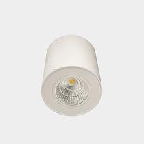 Downlight sporgente / LED / rotondo / in vetro
