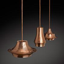 Lampada a sospensione / moderna / in alluminio / in rame