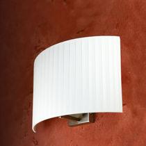 Applique moderna / in tessuto / LED / fluorescente compatta
