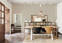 Lampada a sospensione / moderna / in legno / indoor