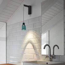 Applique moderna / in vetro borosilicato / LED