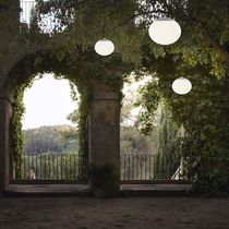 Lampada a sospensione / moderna / in vetro / da giardino