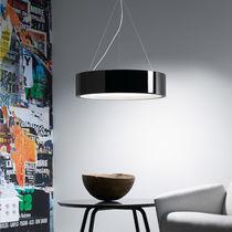 Lampada a sospensione / moderna / in vetro / in poliuretano