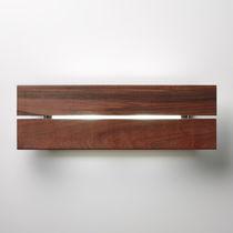 Applique moderna / da esterno / legno / in alluminio
