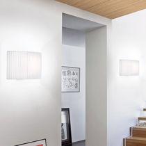 Applique moderna / in cotone / in poliestere / LED