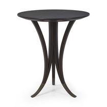 Tavolino moderno / in legno / rotondo
