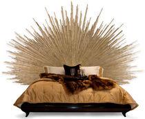 Testiera per letto matrimoniale / design originale / in legno